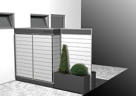 gartenschrank terrassensichtschutz mit stauraum garten q share