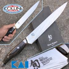 Kitchen Devils Knives Kai Japan Shun Nagare Ndc 0704 Coreless Steel Slicing Knife