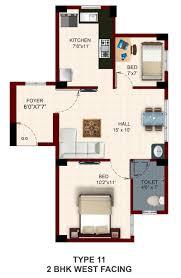 2bhk Floor Plan Floor Plan