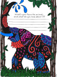 your favorite animal coloring page from tiny buddha u0027s gratitude