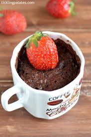 chocolate strawberry mug cake recipe in microwave tickling palates