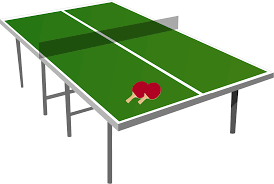 how big is a ping pong table clipart isometric ping pong table