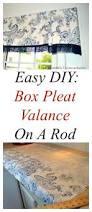 best 25 box pleat valance ideas on pinterest valance window