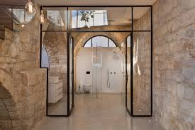 Interior Stone Arches Stone House In Israel Built In The Shape Of The Hebrew Letter Chet