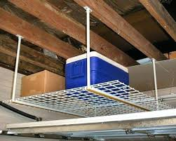 overhead ladder storage pull down stairs allow for easy access to