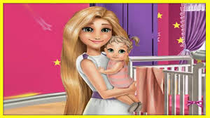 Princess Home Decoration Games Mommy Rapunzel Home Decoration Disney Tangled Princess Rapunzel