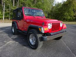 red jeep rubicon red jeep wrangler in michigan for sale used cars on buysellsearch