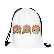 friends emoji best friends forever emoji drawstring bag u2013 mango people