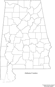 Blank Map Of World Political by Alabama Outline Maps And Map Links