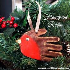 salt dough handprint ornament this the best ideas for