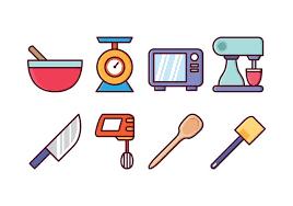 kitchen icon free kitchen icon set download free vector art stock graphics