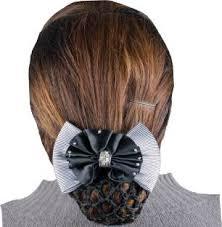 hair accessories online india majik hair accessories for juda white brown bun clip price in