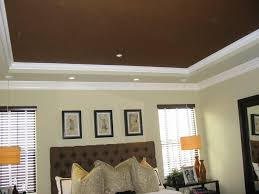 Tray Ceiling Paint Ideas Bedroom And Living Room Image Collections - Living room ceiling colors