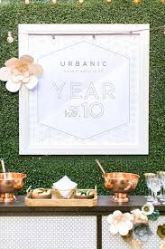 10 year anniversary ideas urbanic paper boutique anniversary summer party 100 layer cake