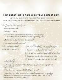 dream home design questionnaire planning kit wedding planner questionnaire plan a wedding pinterest