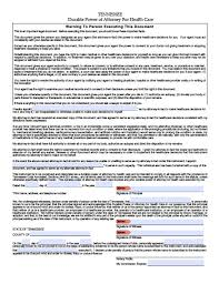 Form 2848 Power Of Attorney And Declaration Of Representative by Tennessee Tax Power Of Attorney Form Power Of Attorney Power