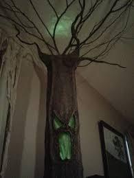 Spooky Halloween Prop Tutorials One Armed Grave Grabber Foam Creepy Tree Tutorial 2 Pcs For Easier Storage Too Halloween