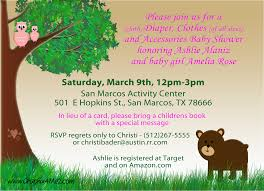 forest theme baby shower u2013 graphix 4 me