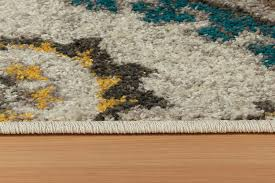Yellow And Grey Runner Rug Rugs Adds Texture To The Floor And Complements Any Decor With