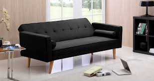 canap clic clac noir canapé moderne tissu salon tissu salon de coin tissu noir