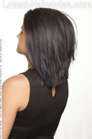 bob haircuts same length at back longer bob with edgy layers for medium hair back hair