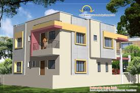 215 square feet duplex house plan and elevation 2310 sq ft indian home decor