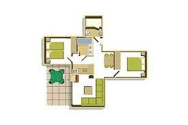 Treehouse Villas Floor Plan Two Bedroom Floorplan Example Decorating Pinterest Bedrooms