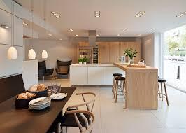 Oak Kitchen Design Bulthaup B3 U0027rough Sawn Oak U0027 Kitchen With Carl Hansen Furniture