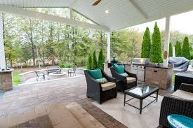 Concrete Backyard Design Houzz Backyard Best Restaurant Patio Design Patio Stone Ideas Patio