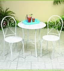 Bistro Patio Sets Metal Bistro Patio Furniture Set In White Finish Buy Patio