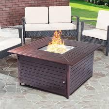 Patio Heater 40000 Btu by 40000 Btu Aluminum Propane Gas Fire Pit Patio Heaters Climate