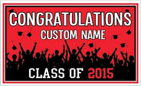 high school senior banners personalized graduation banners made in the usa