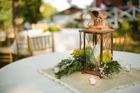 lantern centerpiece lantern centerpiece with burlap square wedding ideas juxtapost
