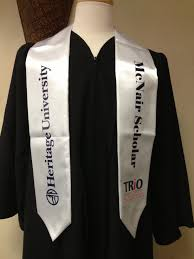 custom graduation sashes graduation stoles proforma trio ideas