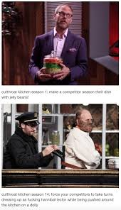 Kitchen Memes - 33 tumblr posts that prove cutthroat kitchen is the best show on