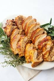 thanksgiving stuffed turkey breast spicy stuffed turkey breast giadzy