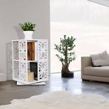 Wood Plastic Composite Furniture Wood Aliexpress Com Buy Finether 2 Tier Modular 360 Degree Swivel