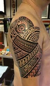 badass polynesian custom tattoo design by chicktattoo u2026 u2026get yours