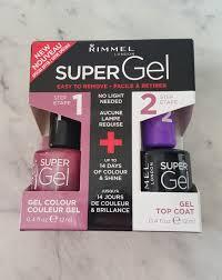beautifully glossy rimmel super gel nail polish
