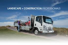 isuzu landscape truck landscaping trucks for your business needs