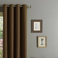Heavy Insulated Curtains Rhf Blackout Thermal Insulated Curtain Antique Bronze Grommet