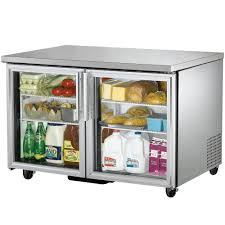 gl door undercounter refrigerator turbo air fridge tom 60 dx