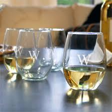 Wedding Gift Glasses Personalized Stemless Wine Glasses 4 Pcs Groomsmen U0027s Gifts