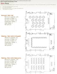 Banquet Hall Floor Plan by Floor Plans