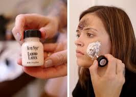 spirit halloween liquid latex how to zombie halloween makeup tutorial locale magazine