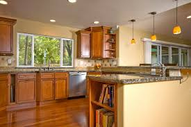kitchen paint ideas with wood cabinets image on awesome kitchen