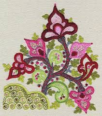 kashan crewel kit give away embroidery kits crewel
