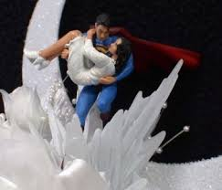 superman wedding cake topper superman lois lane wedding cake