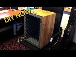 building a photo booth cabinet how to build a microphone isolation box diy now youtube