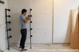 Diy Modern Bookcase Homemade Modern Ep47 Pipe Shelves